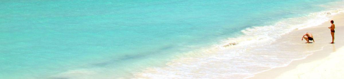 Lækker varm strand på Zanzibar